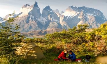 التخييم حول جنوب أمريكا