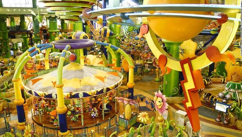 ماليزيا: أروع حدائق الألعاب