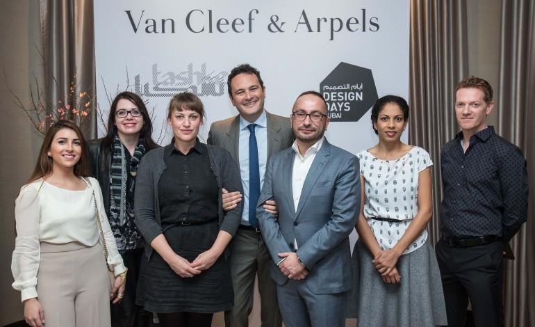 اختيار أربعة مبدعين للمرحلة النهائية من «جائزة الفنان الناشئ في الشرق الأوسط 2016» التي تنظمها «فان كليف أند آربلز» بالتعاون مع «تشكيل» و«أيام التصميم دبي»