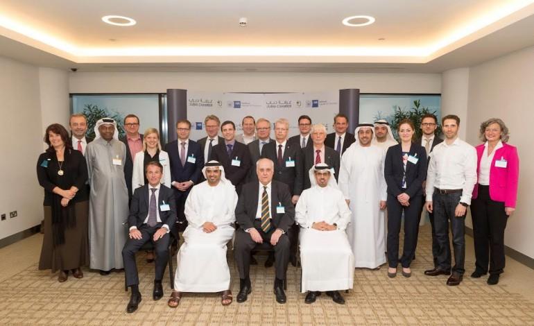 ملتقى دبي هامبورغ للأعمال بحث مستقبل الخدمات اللوجستية والصحة