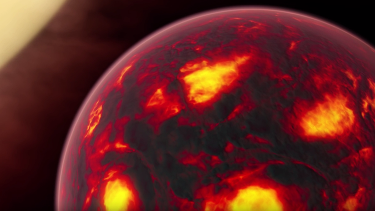 العلماء يكتشفون كوكب الجحيم