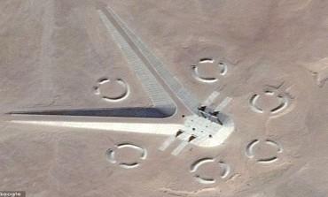 غوغل تنشر صوراً من صحراء مصر قد تكون لقاعدة  فضاء فرعونية