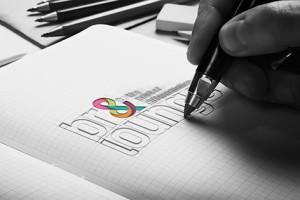 Brand Lounge - logo sketch