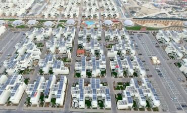 المدينة المستدامة في دبي لاند بدأت إنتاج الطاقة النظيفة