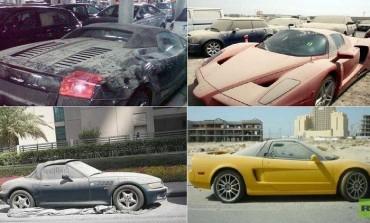 ما هو سر؟ السيارات الفاخرة المهملة في شوراع  دبي