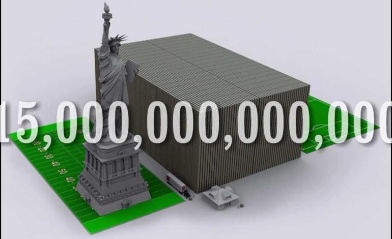 ماذا تعرف عن التريليون؟ وماهو حجم 100 تريليون دولار؟