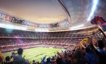 ملعب نادي برشلونة الجديد في سيتي سكيب دبي