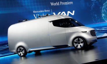 """""""Vision Van"""" سيارة  مزودة بأحدث تكنولوجيا من مرسيدس بنز"""