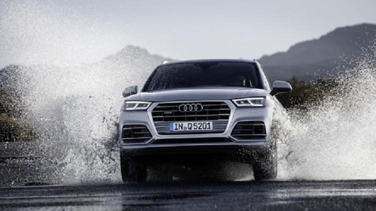 """نموذج """"Audi Q5"""" يمكنه السيطرة ميكانيكيا عند الانزلاق"""