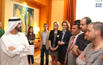 """محمد بن راشد يطلق مبادرة ومعهداً """"عالميين"""" للتسامح"""