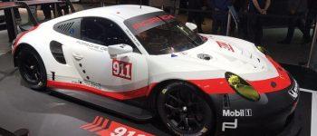 بورش 911 سيارة السباقات الجديدة