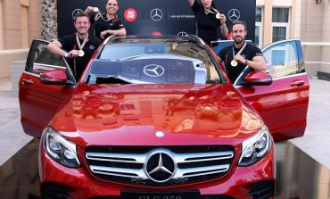 """تحدي مرسيدس- بنز 2016. فريق """"ذا سيتاب"""" يفوز بالسيارة الجديدة  GLC 250!"""