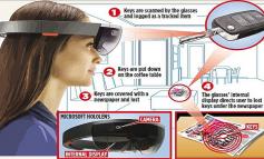 تطوير نظارات ذكية تساعدك على تذكر أماكن الأشياء
