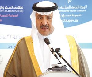 الأمير سلطان بن سلمان : 1.35 مليار تمويلات لمشاريع رواد الأعمال السياحية حتى 2020