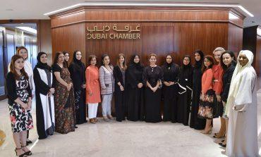 الأميرة هيا بنت الحسين تزور مجلس سيدات أعمال دبي  في الذكرى الـ15 لتأسيسه