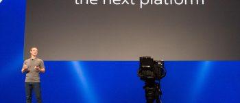 زوكربيرغ يُطلق تقنيات تَواصُل تمهد لانقراض التليفزيون والهواتف الذكية