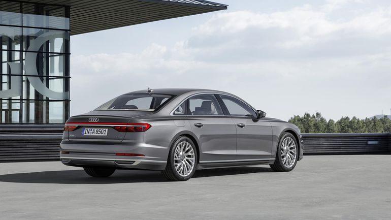 كشف النقاب عن سيارة أودي A8 الحديثة رسمياً