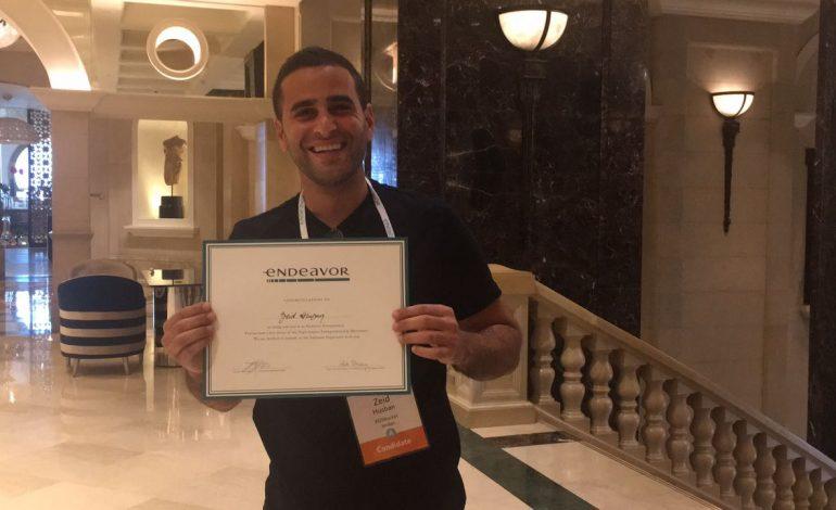 أحدث ريادي أردني ينضم لمنظمة إنديفر العالمية