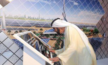 محمد بن راشد يطلق أكبر مشروع عالمي للطاقة الشمسية