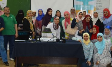 ما هو المجتمع الرقمي الأول لمدرسي اللغة الإنجليزية في مصر؟
