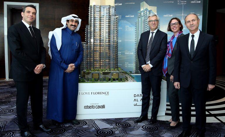 في أول مشروع لها خارج السعودية دار الأركان تبني ناطحة سحاب على قناة دبي المائية بقيمة 800 مليون درهم إماراتي