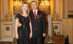 وزير خارجية فرنسا يقدم وسام جوقة الشرف لباتريك شلهوب وزوجته انجي