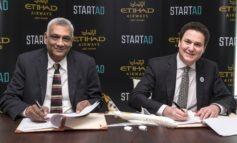 """ستارت إيه دي"""" والاتحاد للطيران تبرمان شراكة استراتيجية لتطوير منظومة ريادة الأعمال"""