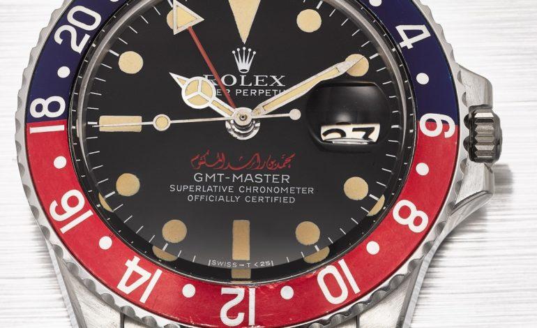 ساعة رولكس تحمل اسم حاكم دبي تُعرض لأول مرة بمزاد كريستيز للساعات بدبي