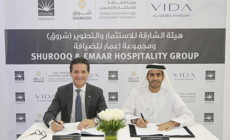 """شروق"""" و""""مجموعة إعمار للضيافة"""" أعلنتا عن فندق """"فيدا القصباء الشارقة"""