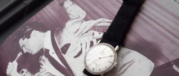 ساعة النجم الراحل إلفيس بريسلي من أوميغا تباع بسعر خيالي بمزاد سويسري