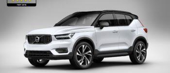 """""""Volvo XC40"""" تحظى بتصنيف """"خمس نجوم"""" في """"البرنامج الأوروبي للسيارات الجديدة"""