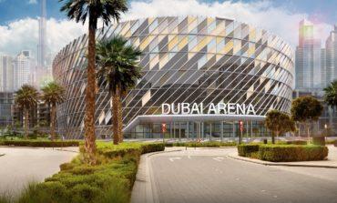 """اكتمال واجهات """"دبي أرينا"""" استعداداً لافتتاحها عام 2019"""