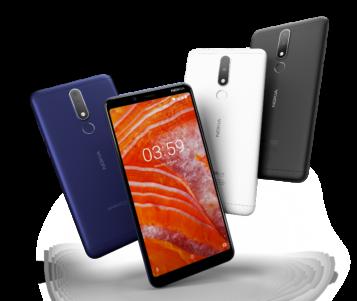 طرح هاتف نوكيا 3.1 بلس Nokia 3.1 Plus في دولة الامارات