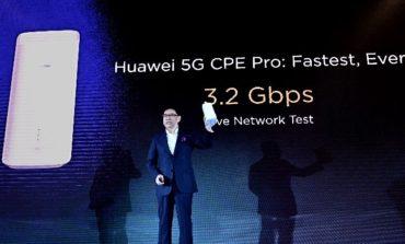 لأول مرة... هواوي تطلق رقاقة تجارية للجيل الخامس وجهاز هواوي 5G CPE Pro