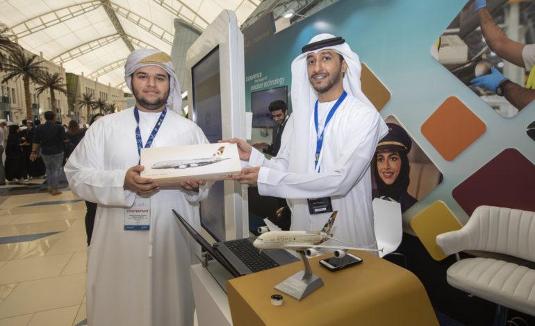 الاتحاد للطيران تعرض أحدث الحلول المبتكرة بقطاع الطيران خلال معرض بالعلوم نفكّر 2019