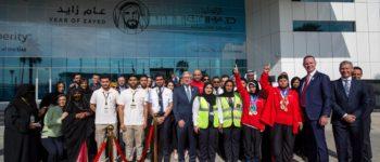 الاتحاد للطيران تُطلق مبادرة التبرع بالأميال لدعم الرياضيين في الأولمبياد الخاص