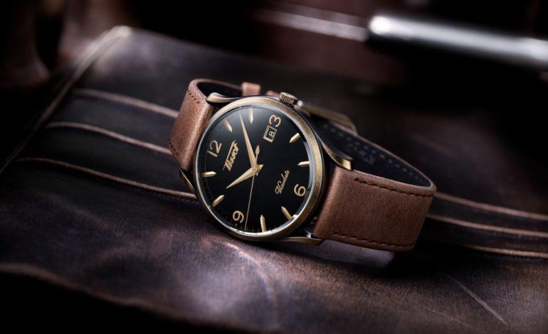 ساعة Tissot Heritage Visodate Quartz تراث من الأناقة