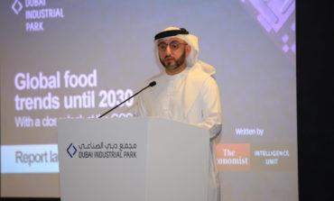 """مجمع دبي الصناعي يطلق دراسة """"اتجاهات الغذاء العالمية حتى سنة 2030"""""""