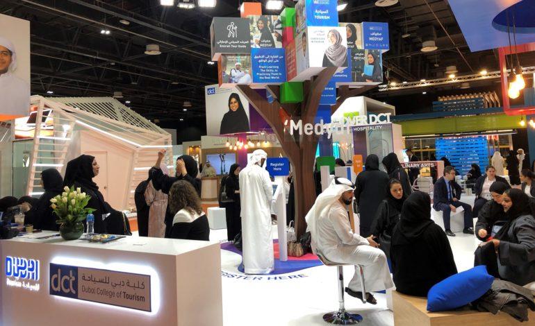"""""""دبي للسياحة"""" تشارك في معرض الإمارات للوظائف 2019"""