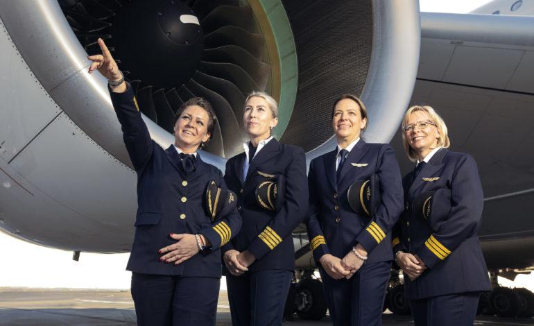 رحلة الاتحاد للطيران بطاقمها النسائي المتكامل تحمل اليوم العالمي للمرأة إلى آفاق جديدة