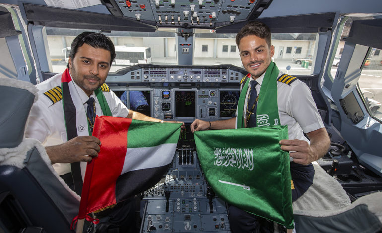حضور قوي للاتحاد للطيران في المعرض السعودي الدولي للطيران