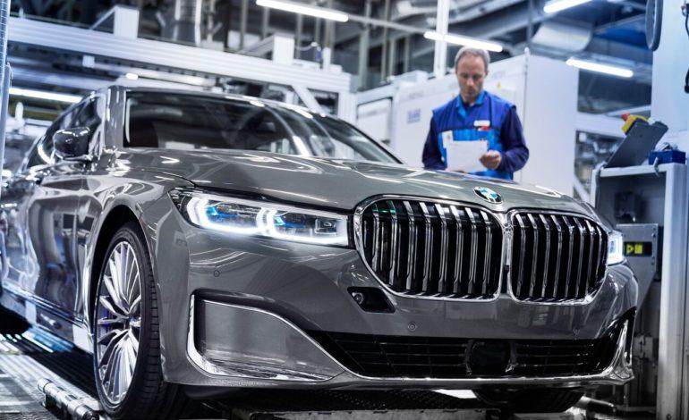 بدء  مرحلة إنتاج الطراز الجديد من سيارة BMW الفئة السابعة صالون