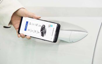 هيونداي تقدم مفتاح رقمي عبر تطبيق ذكي للهواتف المحمولة في سياراتها الحديثة