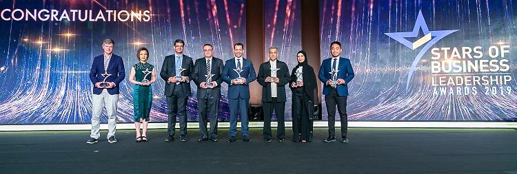 """جائزة """"نجوم ريادة الأعمال 2019"""" تحتفي بالفائزين"""
