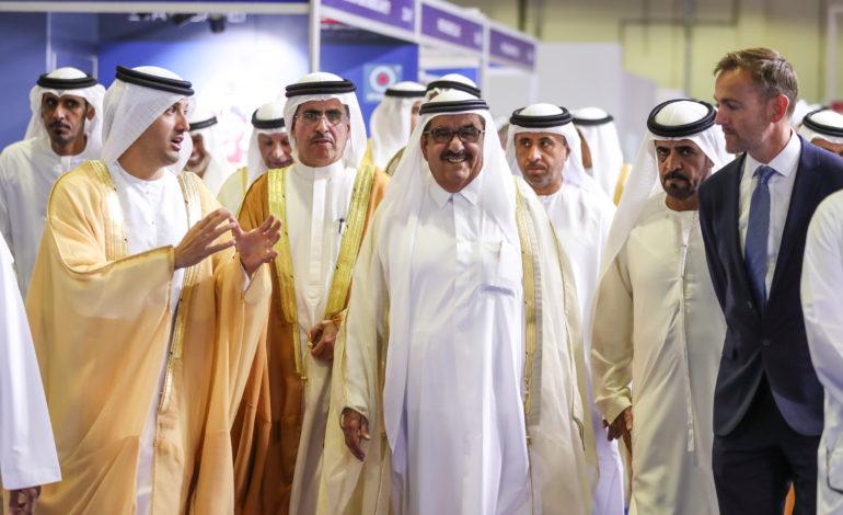 حمدان بن راشد يُطلق فعاليات معرض الشرق الأوسط للكهرباء 2019