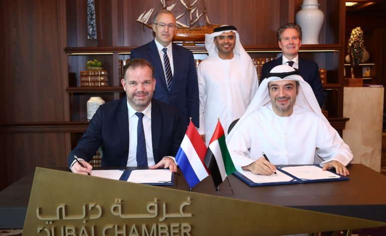 غرفة دبي تحدد قطاعات الطاقة والمياه والأغذية كمجالات للتعاون مع هولندا