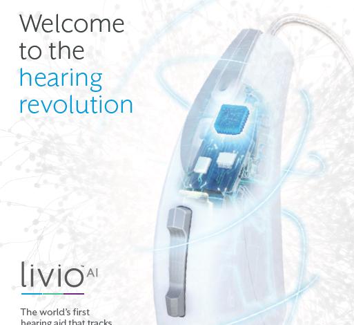 ليفيو اول جهاز سمعي من نوعه في المنطقة مدعوم بالذكاء الاصطناعي