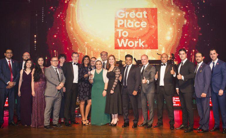 """""""غريت بليس تو وورك تكشف أفضل 30 مكاناً للعمل"""" في الإمارات"""