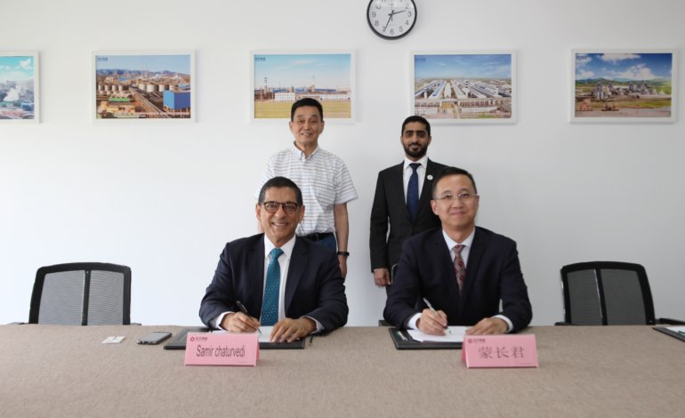 """مجموعة """"إيست هوب"""" الصينية تدرس التوسع بمدينة خليفة الصناعية"""