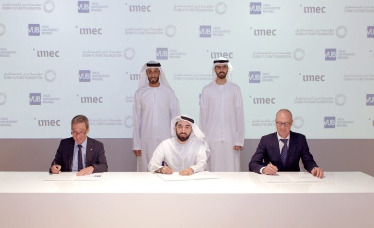 اتفاقية تعاون بين مؤسسة دبي للمستقبل ومراكز بحثية رائدة في بلجيكا
